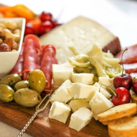 Summer Antipasto Platter Cheese Board