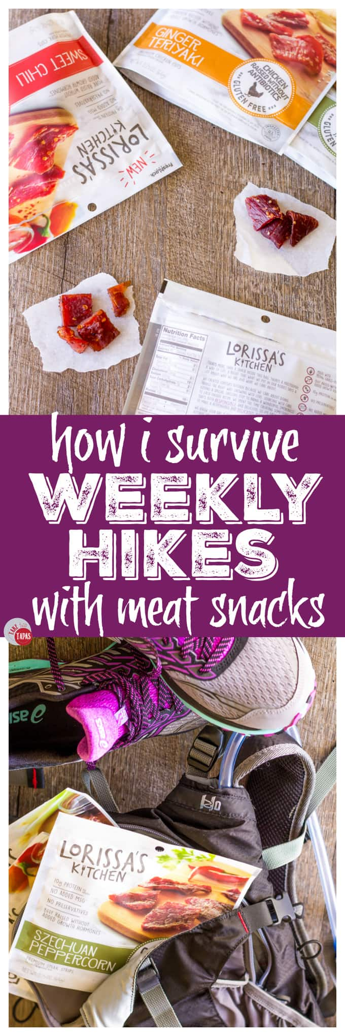 Surviving my weekly hikes with protein meat snacks | Take Two Tapas
