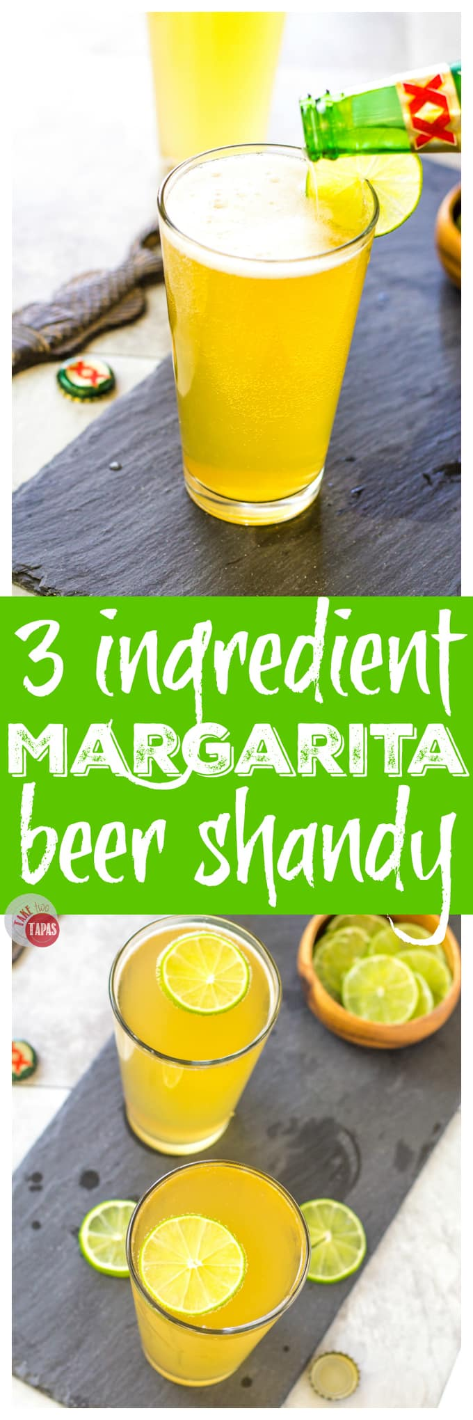 Margarita Beer Shandy with 3 Ingredients | Take Two Tapas