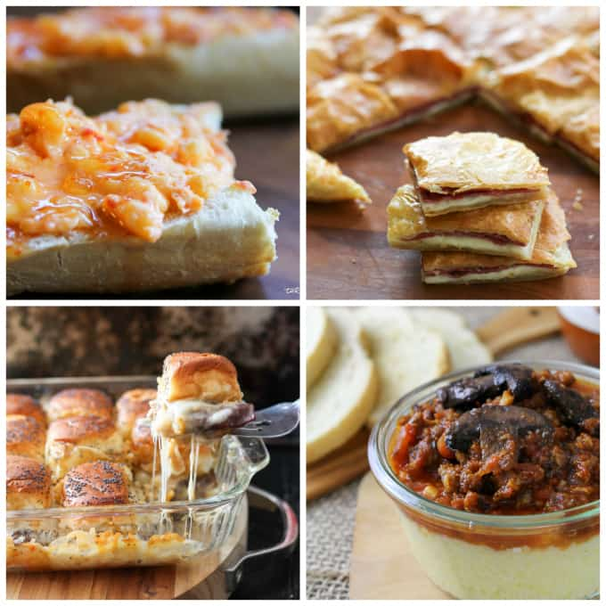Collage of Hearty Tapas recipes