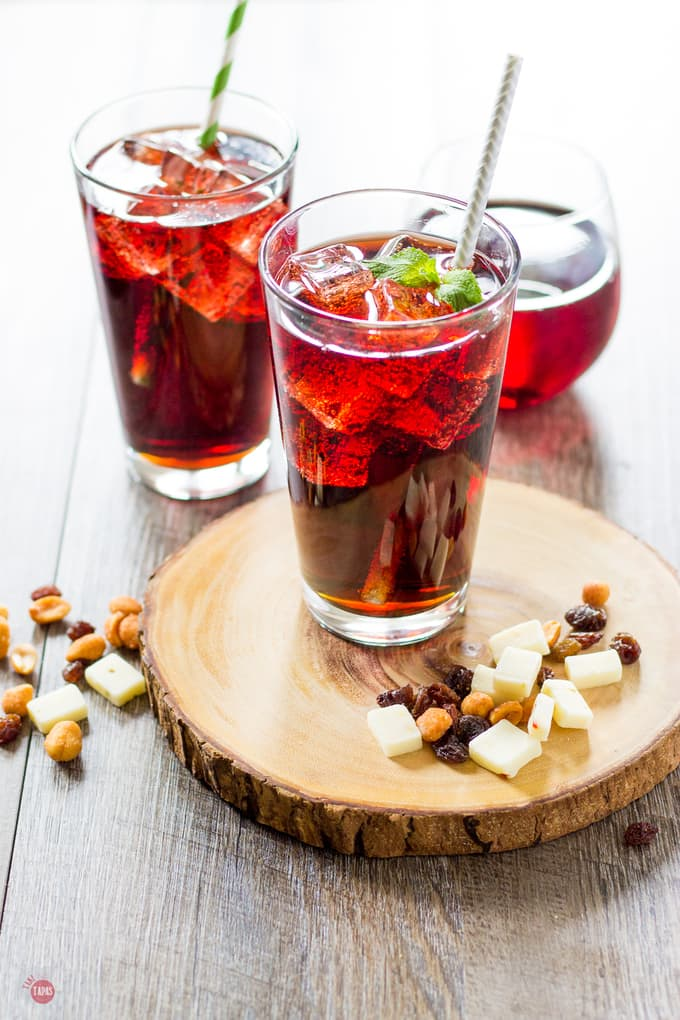 Kalimotxo Sangria Red Wine and Cola Cocktail | Take Two Tapas
