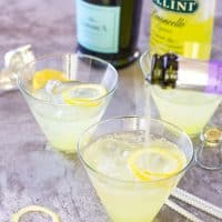 Limoncello Lady - 3 Ingredient Prosecco Cocktail