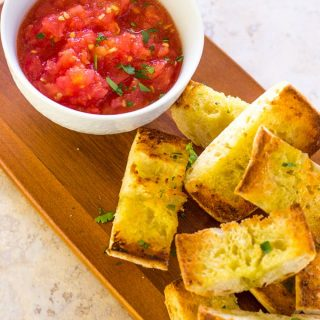 Spanish Grilled Bread with Tomato Pan Con Tomate | Take Two Tapas