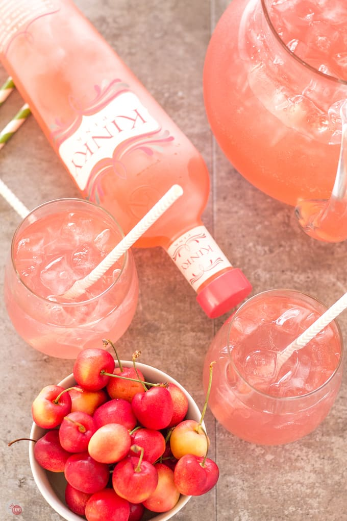 The best Pink Passion Party Punch   Take Two Tapas   Pink Passion Party Punch with a threesome of flavors   Take Two Tapas   #partypunchrecipe #pricklypearrecipe #largebatchpunch #bloodorangesoda #PartyRecipes