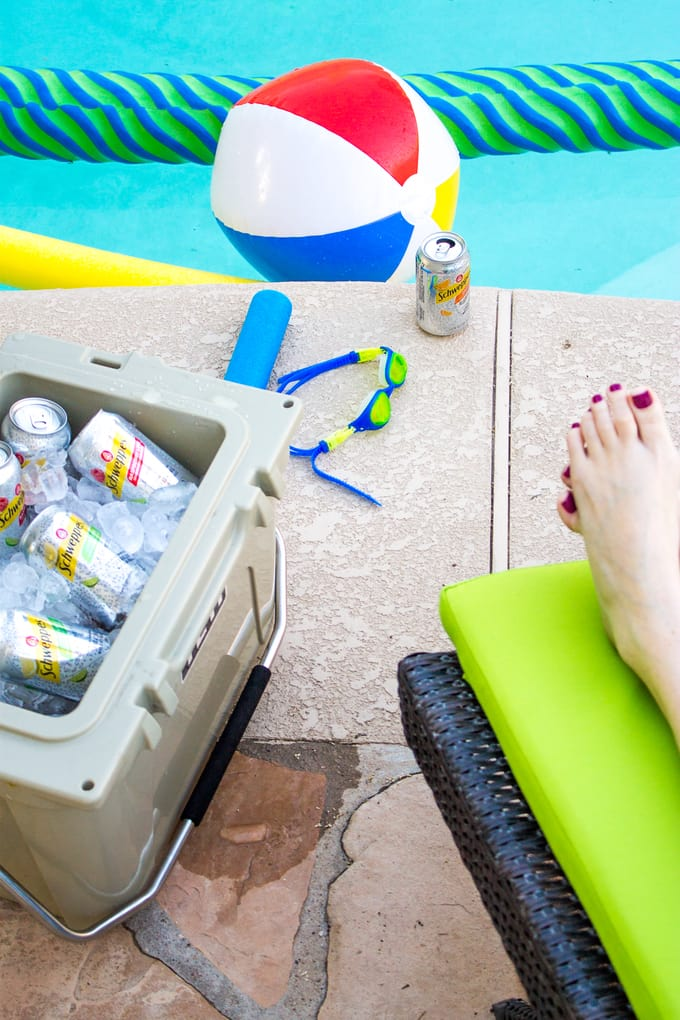Staying Hydrated Poolside | Take Two Tapas