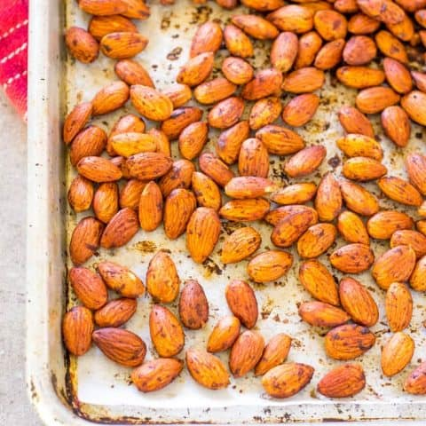 Bacon Paprika Almonds