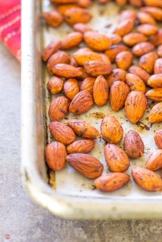 Smoked Paprika Almonds with Bacon | Take Two Tapas