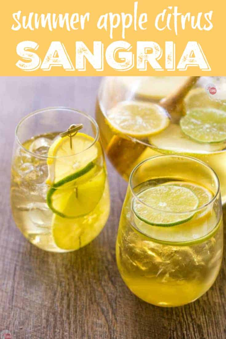 5 Tips for Perfect Sangria and a Summer Apple Sangria | Take Two Tapas | #Sangria #TipsforSangria #SummerEntertaining #SangriaRecipes #AppleSangria