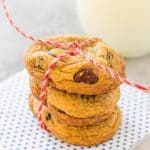 Cinnamon Chocolate Chip Cookies | Take Two Tapas