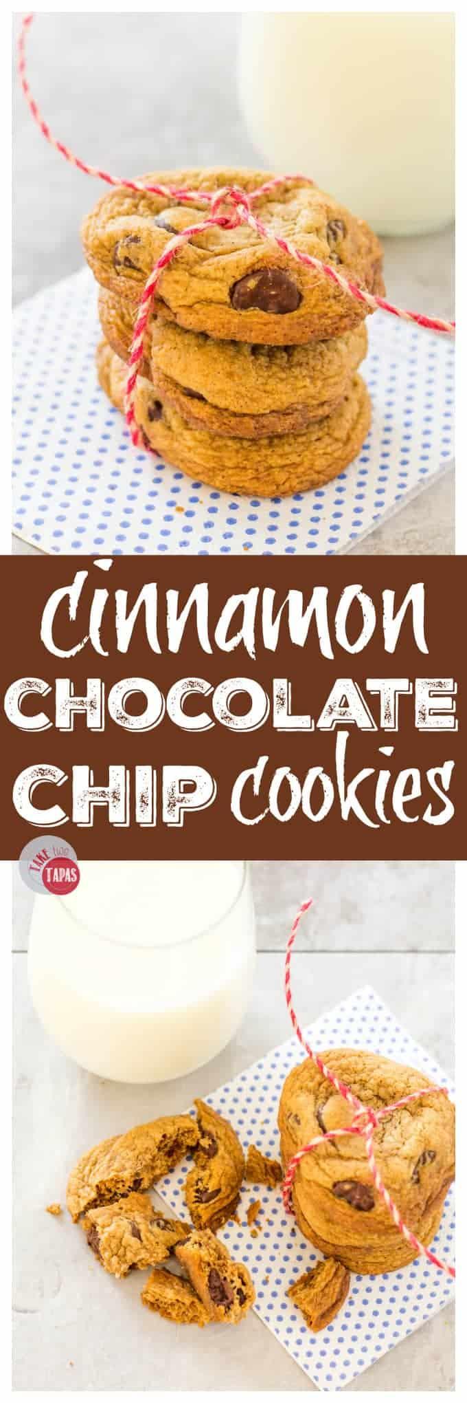 Cinnamon Chocolate Chip Cookies   Take Two Tapas