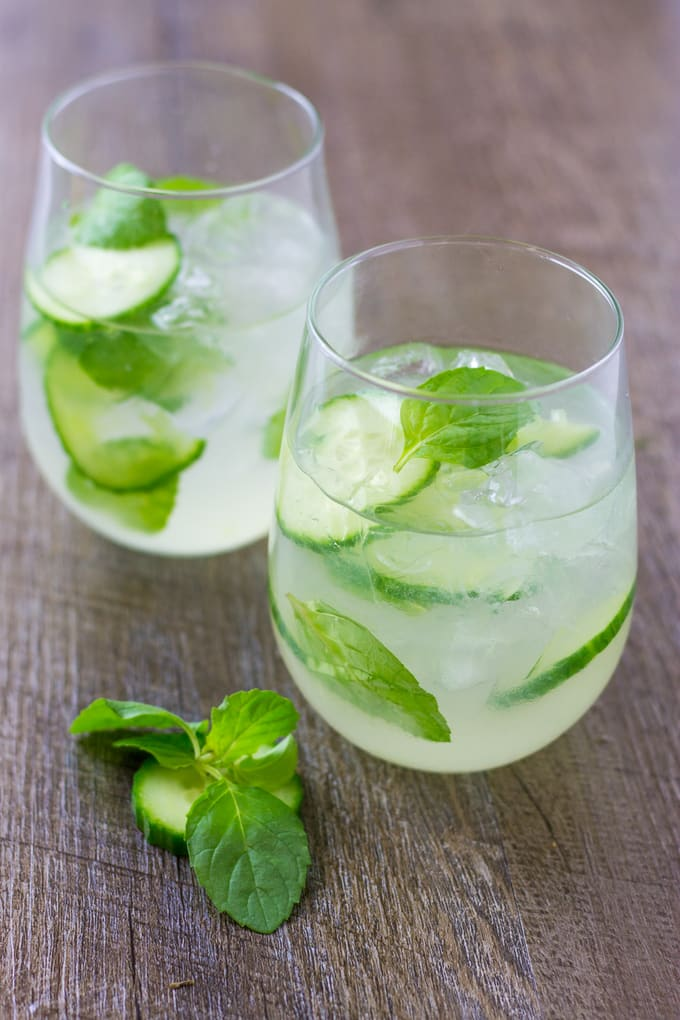 Cucumber Mint Gin Cooler