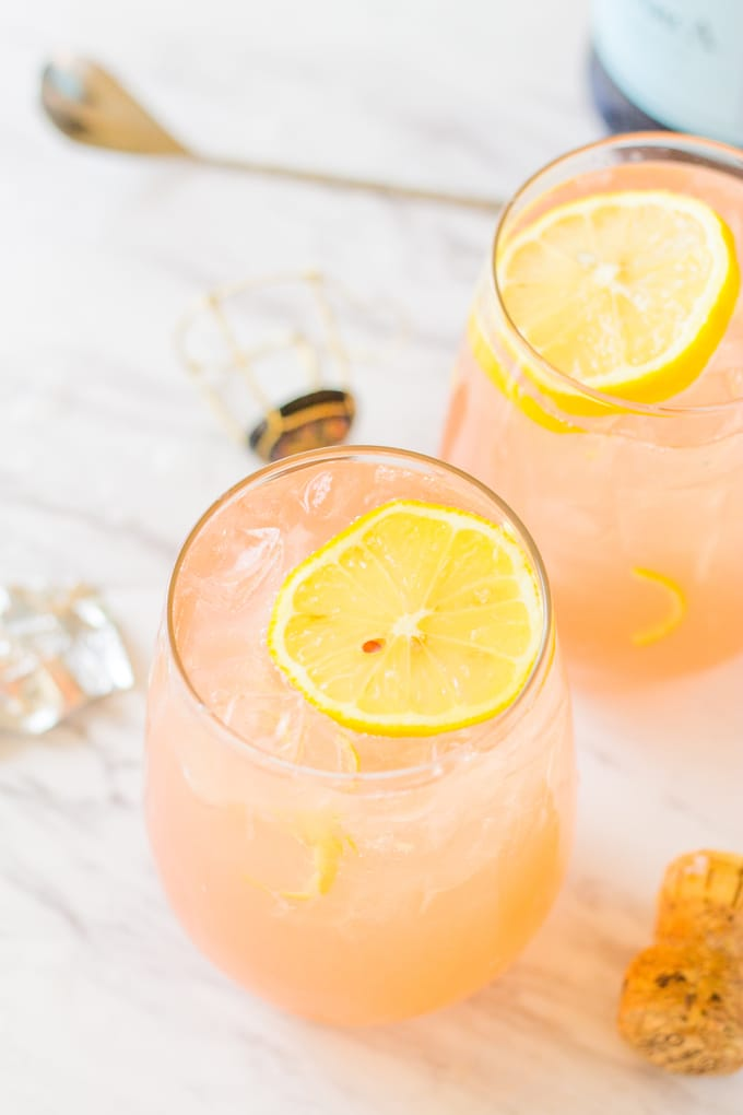 Back to School Cocktail - Grapefruit Lemonade Crush | Take Two Tapas | #Grapefruit #Lemonade #CocktailRecipe #3IngredientCocktail #EntertainingRecipes
