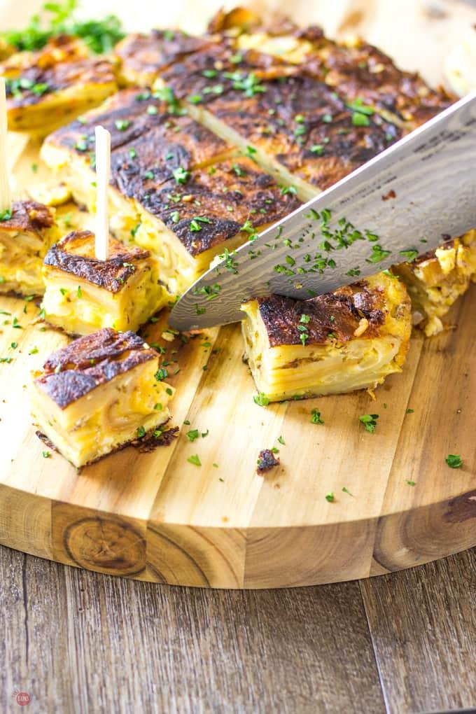Let's fry the Tortilla Espanola | Take Two Tapas