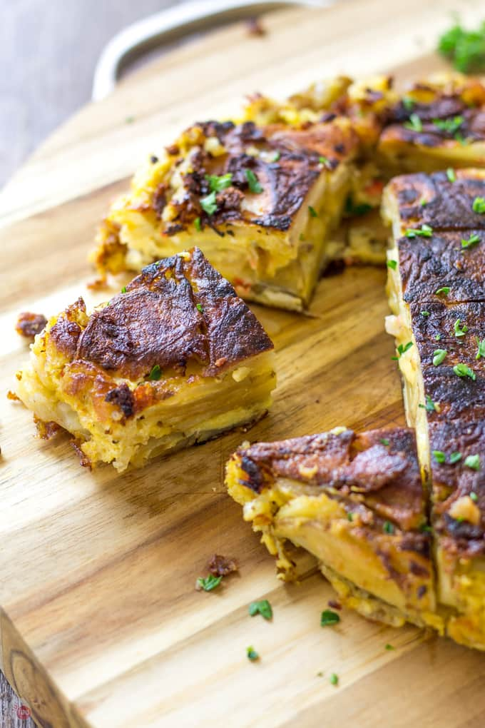 Southern Tortilla Espanola with Pimento Cheese | Take Two Tapas