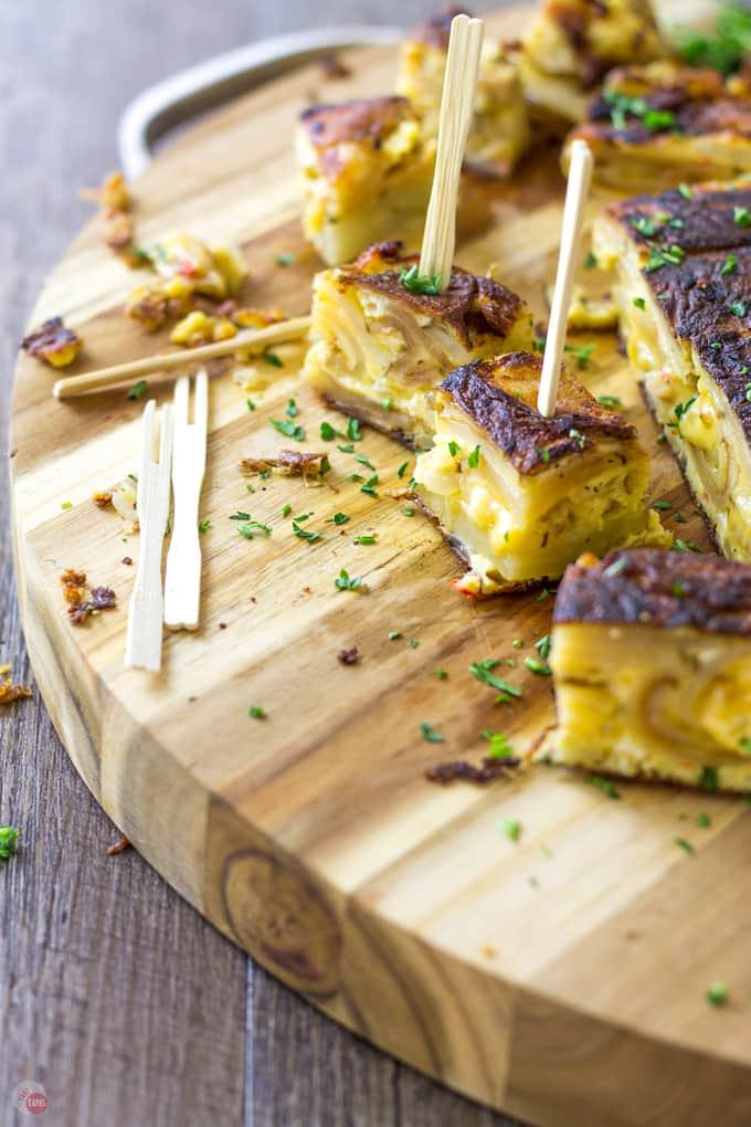 Pimento Cheese Tortilla Espanola | Take Two Tapas