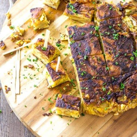 Pimento Cheese Tortilla Espanola