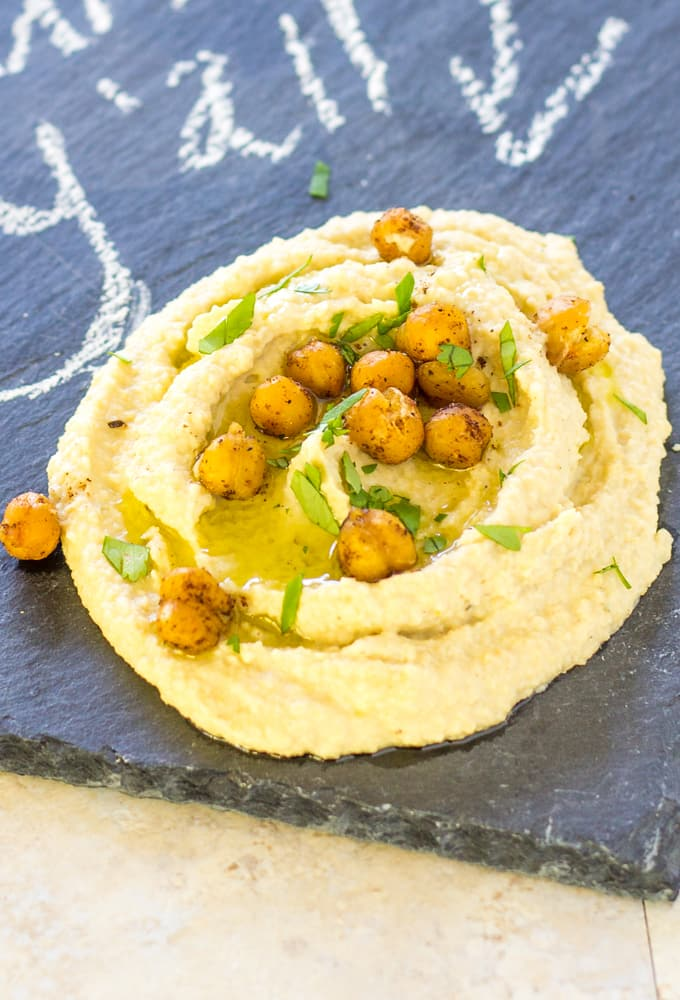 Super creamy shawarma hummus | Take Two Tapas