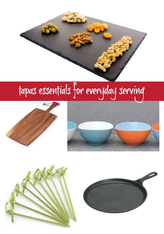 Serving Tapas? You need these Tapas Essentials | Take Two Tapas