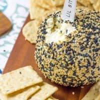 Wasabi Ginger Cheese Ball