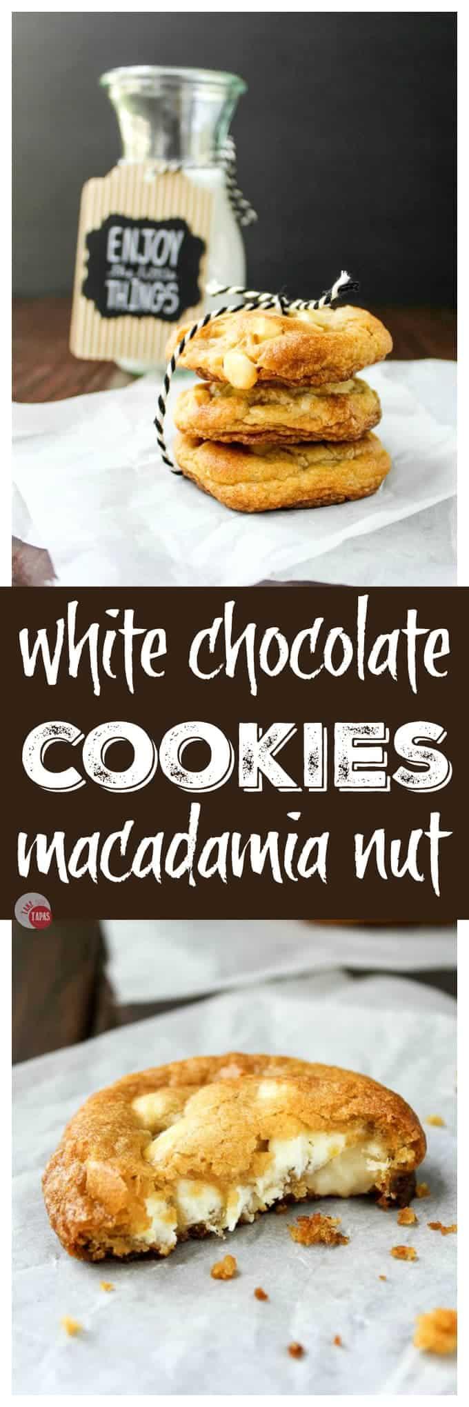 White Chocolate Chip Macadamia Nut Cookies   Take Two Tapas Recipes