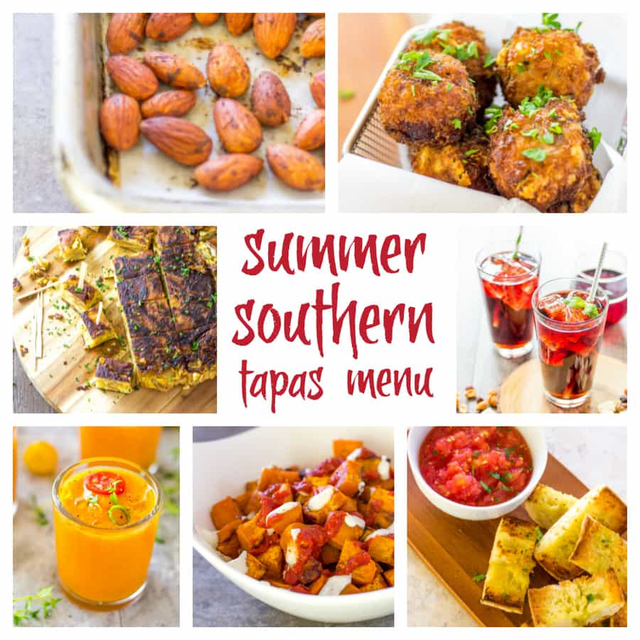 Southern Tapas - Summer Menu for a Light Tapas Meal