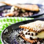 Cannoli S'mores are the new way to enjoy your favorite campfire treat! | Take Two Tapas