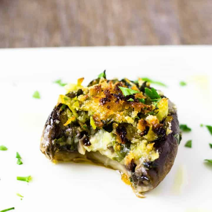 Magnificent Stuffed Mushrooms