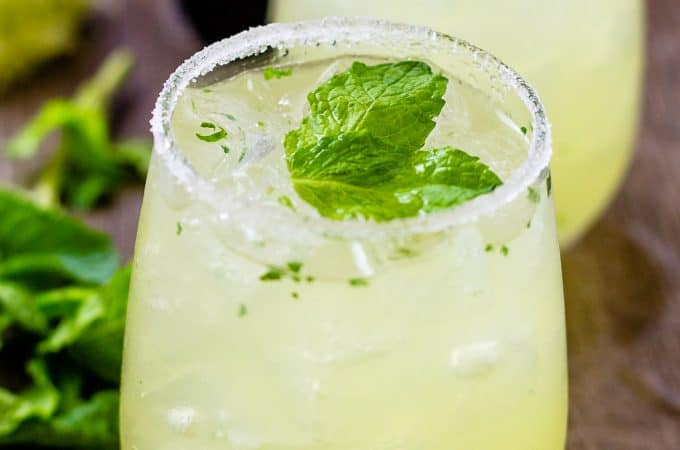 My Mariachi Mash Cocktail is full of lemon lime flavors | Take Two Tapas | #Limoncello #Lime #Tequila #Cocktails #SummerEntertaining #EasyCocktails