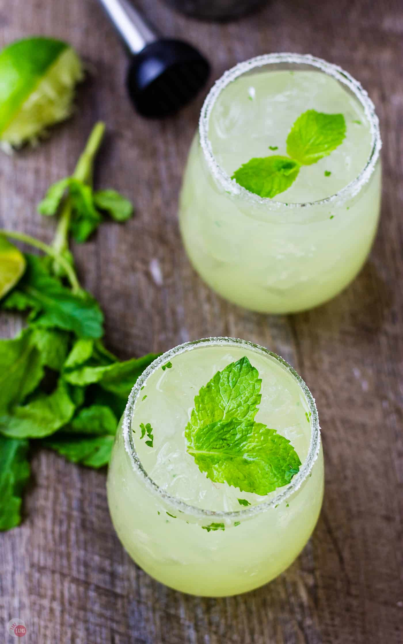 A surprising flavor combo in my Mariachi Mash is lemon and tequila | Take Two Tapas | #Limoncello #Lime #Tequila #Cocktails #SummerEntertaining #EasyCocktails