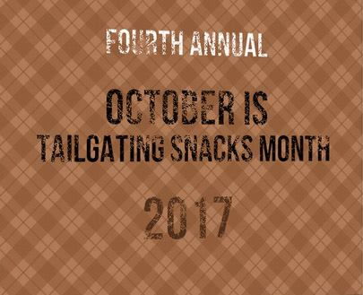 October is Tailgating Snacks Month | Take Two Tapas