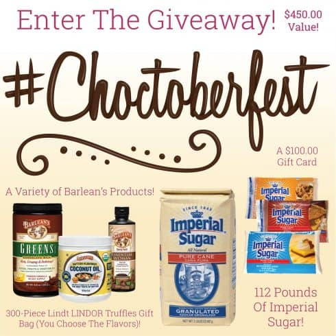 #Choctoberfest2017 Giveaway Graphic