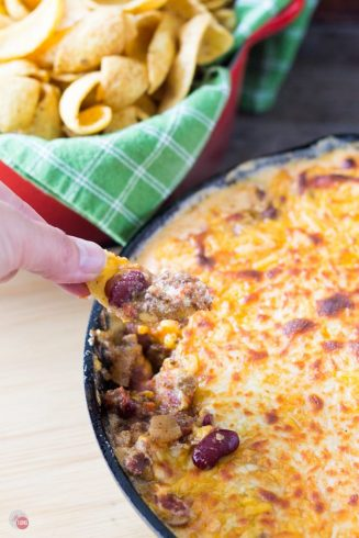 Frito Pie Skillet Dip | Take Two Tapas