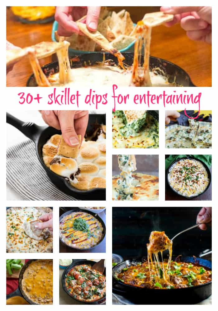 Skillet Dips for Tailgating and Entertaining | Take Two Tapas