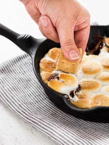 Smores Skillet Dip - If You Give A Blonde A Kitchen | Take Two Tapas