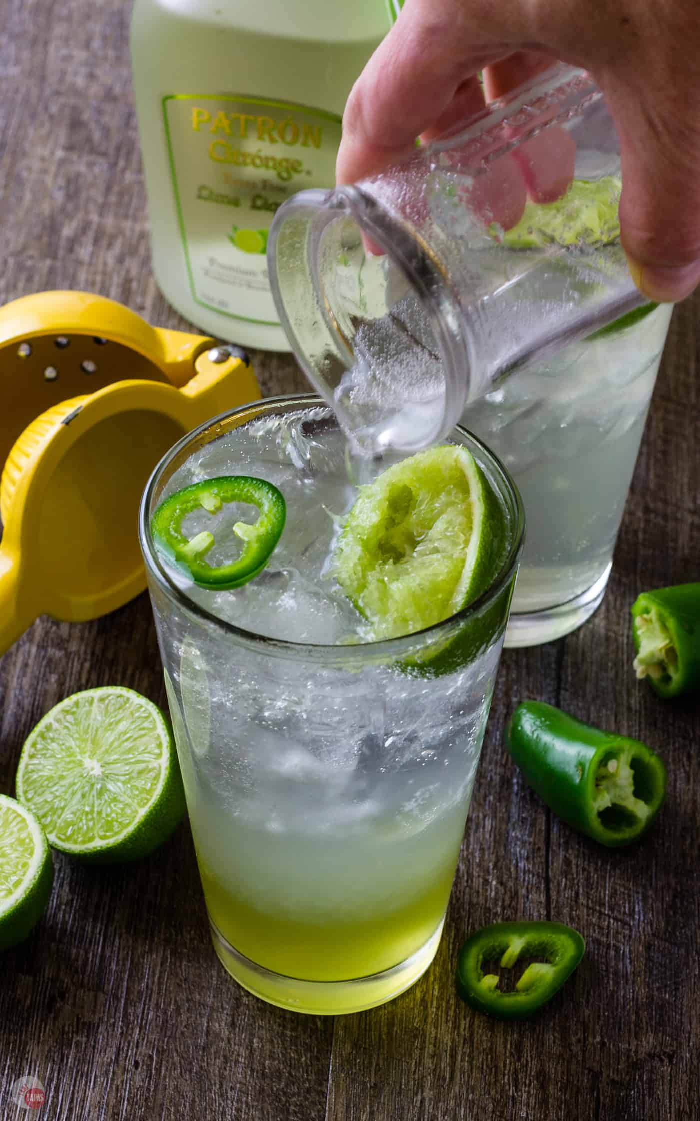 Coconut and Lime are great together! | Lime Coconut Cooler | Take Two Tapas #Lime #Coconut #Cooler #Tequila