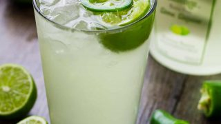 Lime in the Coconut Cooler - A Spicy and Crisp Cocktail!