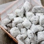 Peanut Butter Pretzel Puppy Chow with a Secret Ingredient