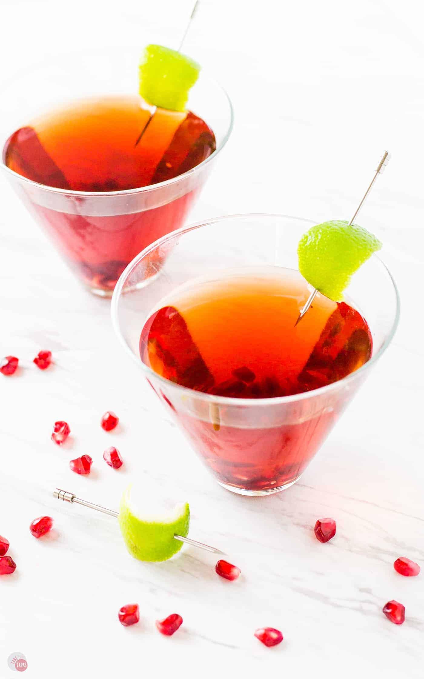 Pomegranate Gimlet #Pomegranate #Gimlet #TakeTwoTapasCocktails   Take Two Tapas