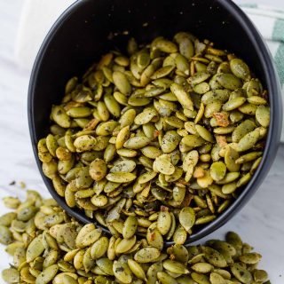 Crunchy Southwest Pepitas | Take Two Tapas | #Southwest #Pepitas #pumpkinseeds #spicy #Nuts #Snacks