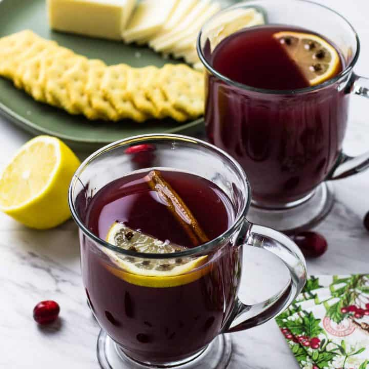 Crockpot Winter Punch - Wassail - Percolator Punch