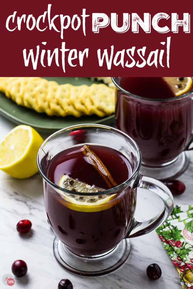 Slow Cooker Wassail | Winter Punch | #Slowcooker #Crockpot #Winter #Punch #Holidays #Wassail