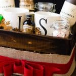 Friends will love this Gift Wrapping Get Away Gift Basket | Take Two Tapas | #GiftWrapping #Mocha #GetAway #GiftBasket #Holidays #AD