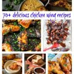 70+ delicious chicken wing recipes | Take Two Tapas | #ChickenWings #gameday #recipes #wings