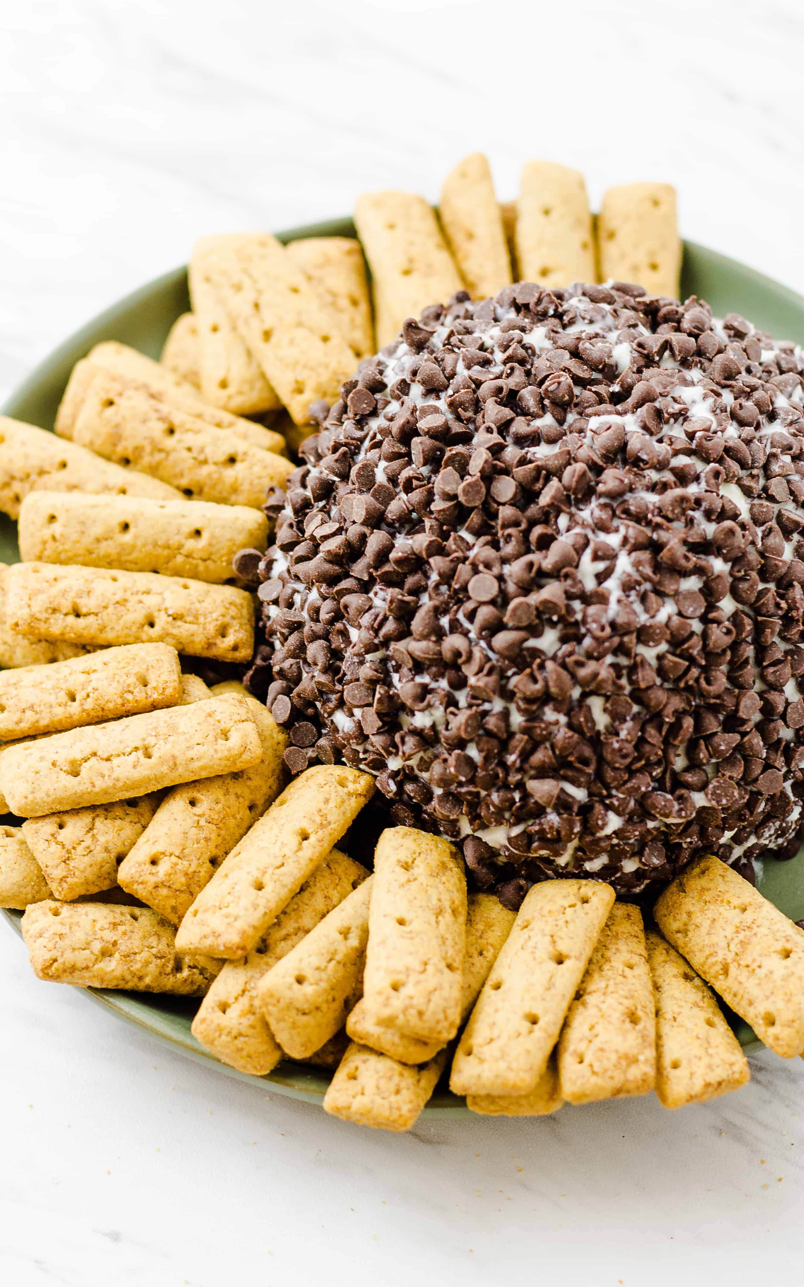 Wrap up your Cannoli Cheese Ball for your next party! | Take Two Tapas | #Cannoli #CheeseBall #Dessert #PartyFoods
