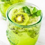Kiwi Mint Mojito with rum | Take Two Tapas | #MojitoRecipe #Mojito #kiwi #rum #mint