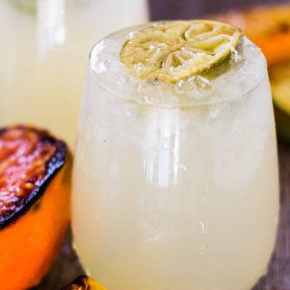Smoky and Sweet Caramelized Citrus Smash | Take Two Tapas | #GrilledCitrus #SummerCocktails #Grapefruit #Limes #VodkaCocktails