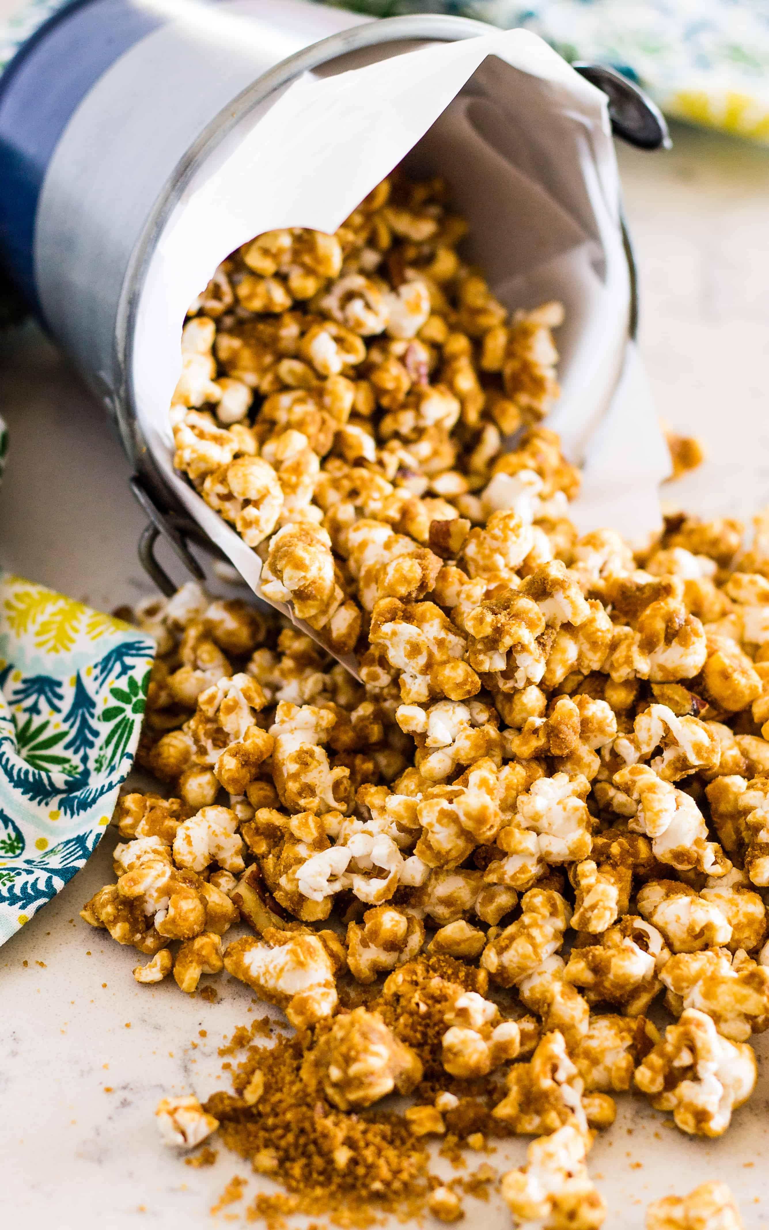 Crispy Sweet and Salty Grandma's Caramel Corn - caramel corn | Take Two Tapas | #CaramelCorn #PopcornRecipe #CaramelPopcorn #EasyCaramelCorn #SummerSnacks #SnacksToShare #GlutenFreeSnacks