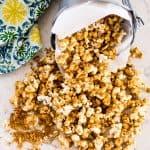 Grandma's Caramel Corn | Take Two Tapas | #CaramelCorn #PopcornRecipe #CaramelPopcrn #EasyCaramelCorn #SummerSnacks #SnacksToShare #GlutenFreeSnacks