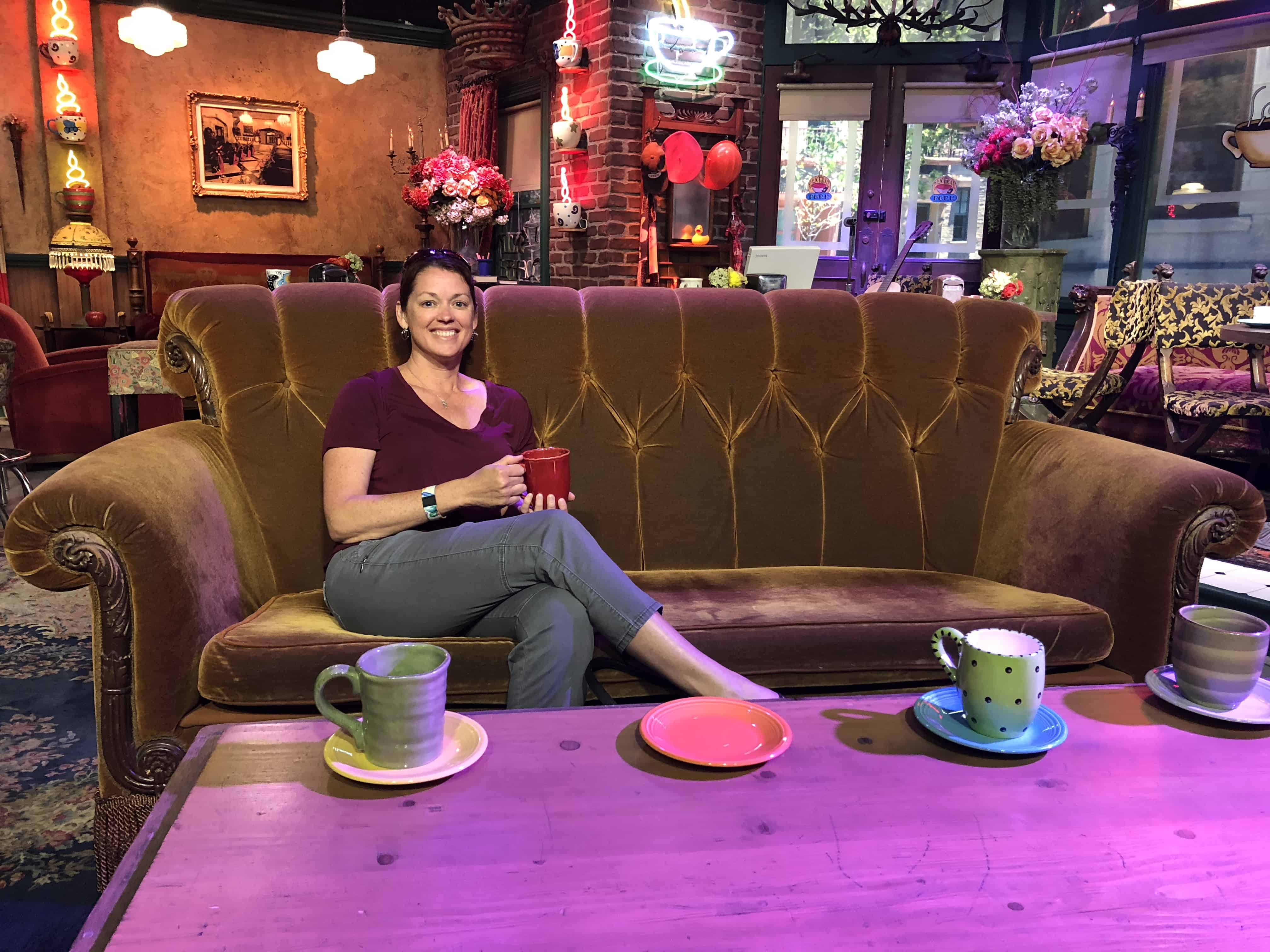 me on the Central Perk couch!