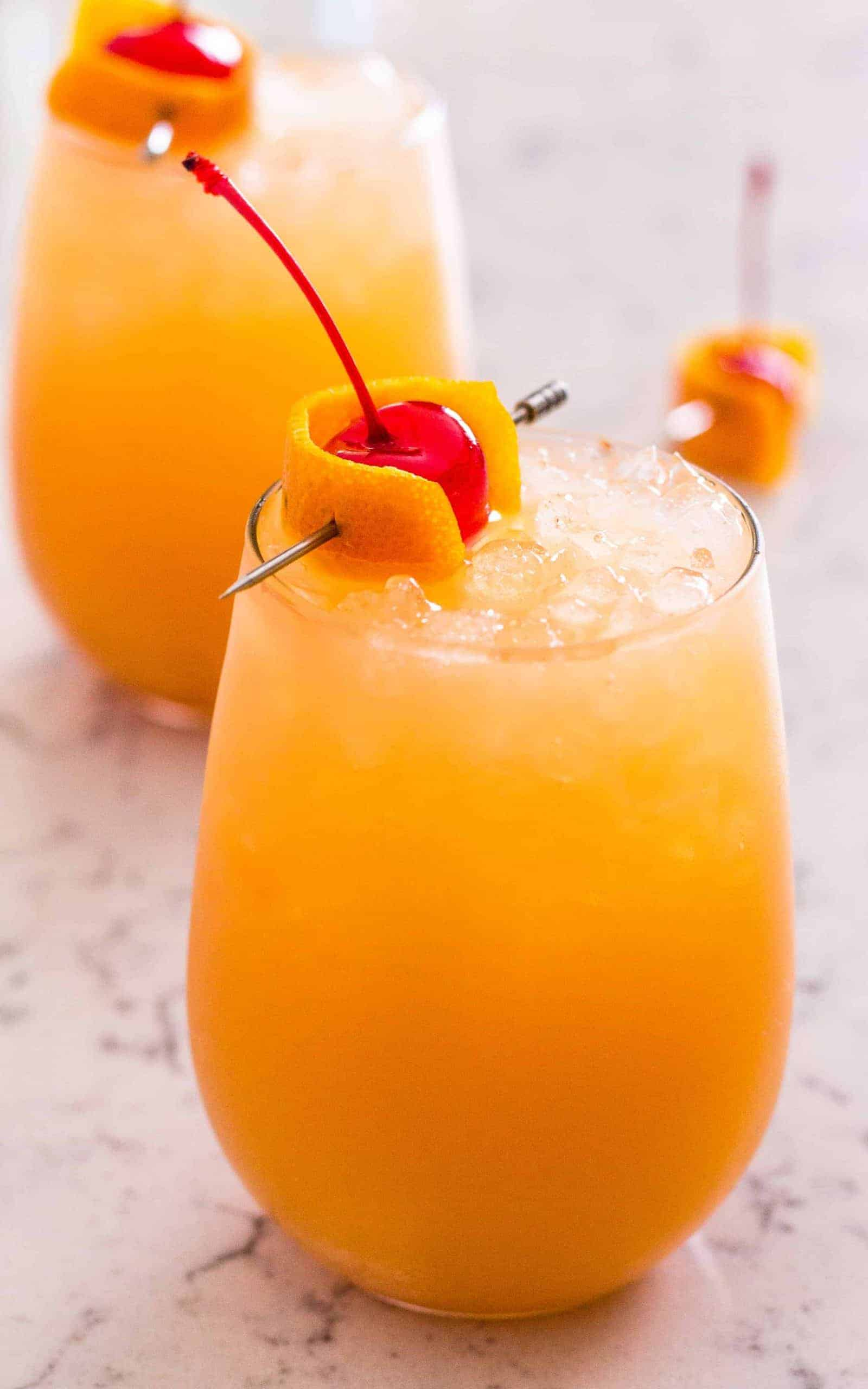 Bahama Mama Tropical Cocktail – Low Calorie Version
